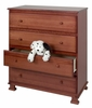 Parker 4-Drawer Dresser - DaVinci Furniture - K5155
