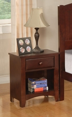 Parker Brown Cherry Nightstand - 400292