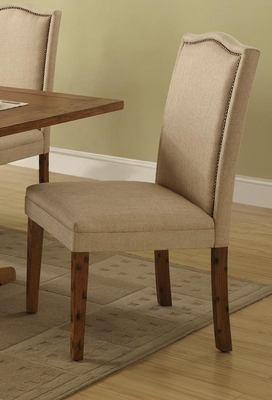 Parkins Parson Chair in Coffee - Set of 2 - 103712