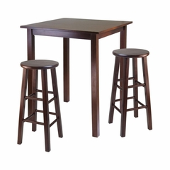 Parkland 3Pc Dining Set - Winsome Trading - 94390