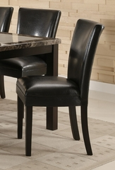 Parson Chair (Set of 2) in Black - Coaster - 102262-SET