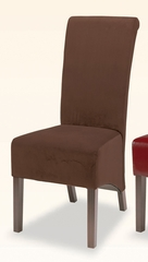 Parson Chair (Set of 2) in Brown Microfiber - Coaster