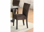 Parson Chair (Set of 2) in Chocolate - Coaster - 101496-SET