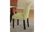 Parson Chair (Set of 2) in Light Green Microfiber - Coaster