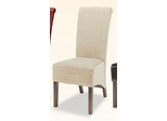 Parson Chair (Set of 2) in Tan Microfiber - Coaster