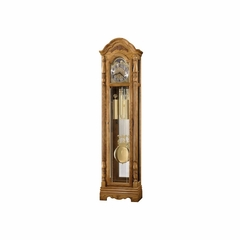 Parson Grandfather Clock in Golden Oak - Howard Miller