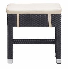 Patio Outdoor Bench - Myrtle Single Bench - Zuo Modern - 701010