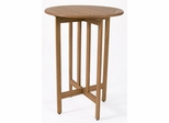 Patio Outdoor Table - Ibiza Bar Table - Eucalyptus Wood - Wood Finish - INT-BT-441