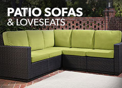 Patio Sofas / Loveseats