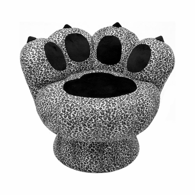 Paw Chair Snow Leopard - Lumisource