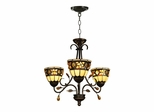 Pebble Stone 3-Light Fixture - Dale Tiffany
