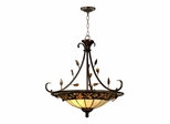 Pebble Stone Inverted Hanging Fixture - Dale Tiffany