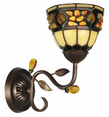 Pebblestone Wall Sconce - Dale Tiffany - TH90231