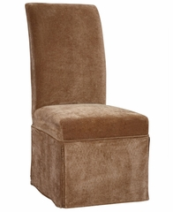 "Pecan Chenille Skirted ""Slip Over"" (Fits 741-440 Chair) - Powell Furniture - 741-202Z"