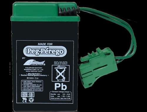 Peg Perego 6 Volt Battery