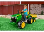 Peg Perego John Deere Ground Force with Trailer & Radio