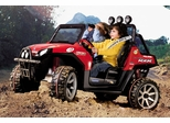 Peg Perego Polaris Ranger RZR Red