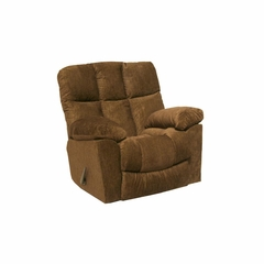 Pegasus Oversized Sandstone / Brown Sugar Rocker Recliner - Catnapper