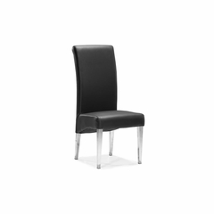 Pencil Leatherette Dining Chair - Set of 2 - Zuo