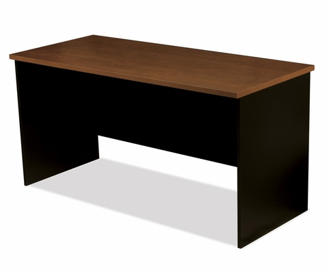 Peninsula Table in Tuscany Brown and Black - Innova - Bestar Office Furniture - 92800-63