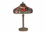 Peony Tiffany Replica Table Lamp - Dale Tiffany
