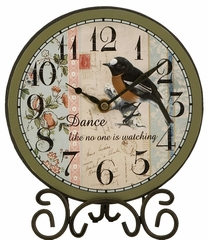 Percy Small Inspirational Bird Clocks (Set of 4) - IMAX - 27557-4