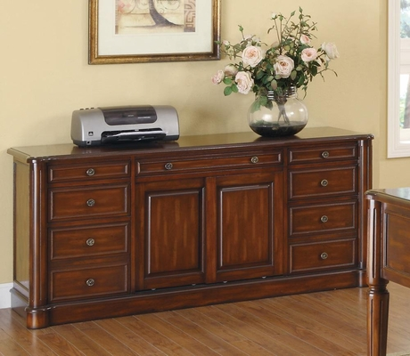 Peterson Nine Drawer Office Credenza - 800467