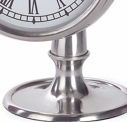 Pewter Finish Hanging Clock - IMAX - 7870