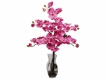 Phalaenopsis with Vase Silk Flower Arrangement - Nearly Natural - 1191-DP
