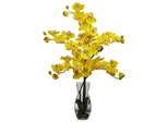 Phalaenopsis with Vase Silk Flower Arrangement - Nearly Natural - 1191-YL