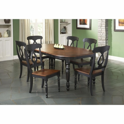 Phillip Rectangular Dining Table and 6 Side Chairs - Largo - LARGO-ST-D195-31-41-SET