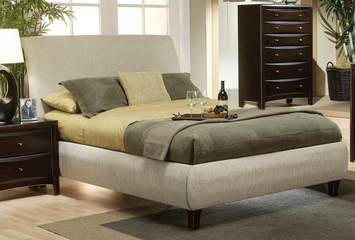 Phoenix Contemporary Upholstered Bed - 300369Q