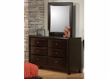 Phoenix Contemporary Youth 6 Drawer Dresser - 400183