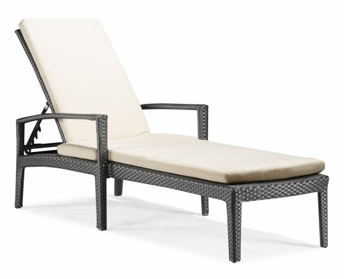 Phuket Lounger in Chocolate - Zuo Modern - 701137