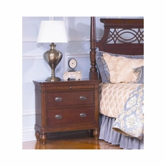 Picardy Nightstand Waxed Cherry - Largo - LARGO-ST-B2110-40