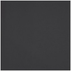 "Pillow in Black - 24"" x 24"" Solid Poly Cotton - 33-3204-601"