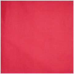 "Pillow in Red - 18"" x 18"" Solid Poly Cotton - 33-3202-608"