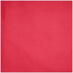 "Pillow in Red - 24"" x 24"" Solid Poly Cotton - 33-3204-608"