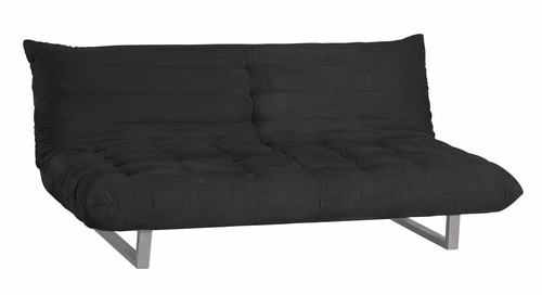 Pillow Sofa Bed in Black - A98-826BLACK