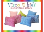 Pillow - Visco 4 Kids Zebra Blue Pillow - SilverRest - SRPZBBMEM