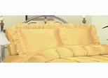 Pillowcase - Charmeuse II 230TC Satin Standard Pillowcase (Set of 2) in Gold - 200SCS2GOLD