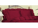 Pillowcase - Charmeuse II 230TC Satin Standard Pillowcase (Set of 2) in Red - 200SCS2RED