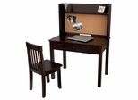 Pinboard Desk with Hutch and Chair - KidKraft Furniture - 27150