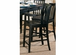 Pines Counter Height Chair in Black - Set of 2 - 101039BLK