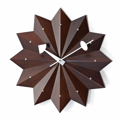Pinewood Wall Clock - G110112-ESP