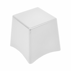 Ping Stacking Stool White - Lumisource