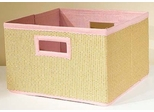 Pink Storage Baskets (Set of 3) - Links - Alaterre - AB3200PIN