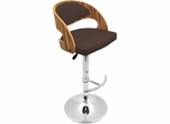 Pino Bar Stool in Zebra Brown - Lumisource
