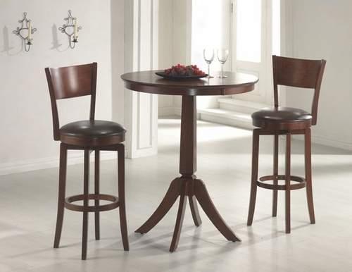 Plainview 3-Piece Bistro Set with Archer Stools - Hillsdale Furniture - 4166830PTS