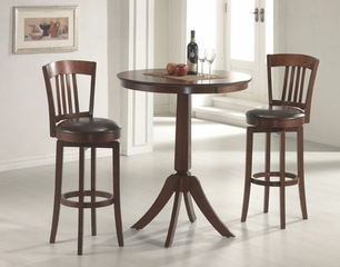 Plainview 3-Piece Bistro Set with Canton Stools - Hillsdale Furniture - 4166833PTS